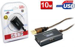 Unitek USB 10.0m czarny