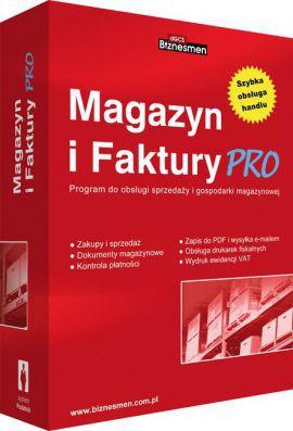 Program  Magazyn i Faktury PRO (PC) dGCS