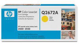 Toner HP Q2672A  żółty