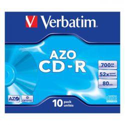 CD-R Verbatim Crystal AZO 10szt