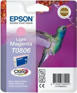 Epson T0806 Claria Photo jasny purpurowy