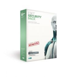 ESET Security Pack BOX  3 - desktop + 3 - smartfon - odnowienie na rok