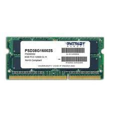 Patriot 8GB [1x8GB 1600MHz DDR3 CL11 SODIMM]