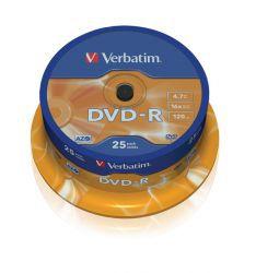 DVD-R Verbatim 25szt