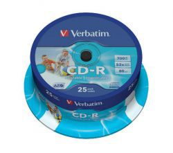 CD-R Verbatim Printable 25szt