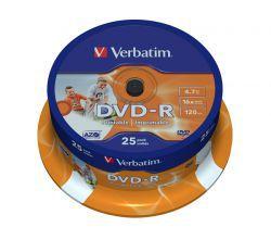DVD-R Verbatim Printable ID 25 szt