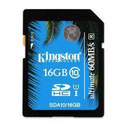 Kingston Ultimate SDHC 16GB