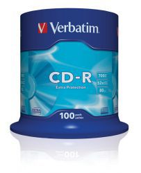 CD-R Verbatim Extra Protection 100szt