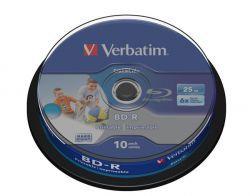 BD-R Verbatim 25GB Printable Datalife 10szt