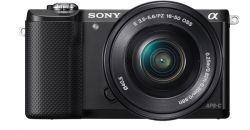 Sony Alpha ILCE-5000L + obiektyw Sony SEL 16-50 mm Czarny
