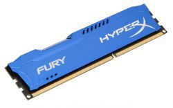 HyperX Fury Blue 8GB [1x8GB 1600MHz DDR3 CL10 DIMM]