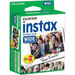 Fuji Instax wide film 2 pac