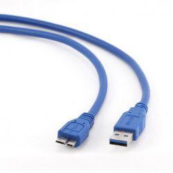 Gembird micro USB 1.8m niebieski