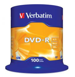 DVD-R Verbatim 100szt