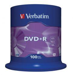 DVD+R Verbatim 100 szt
