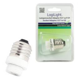 LogiLink adapter gniazda żarówki E27 do G9