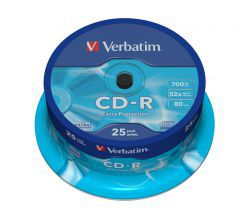 CD-R Verbatim Extra Protection 25szt
