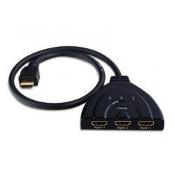 Techly przełącznik 3-portowy