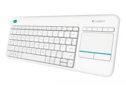 Logitech K400 Plus Biała