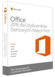Microsoft Office 2016 dla Użytkowników Domowych i Małych Firm 32/64 Bit PL