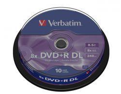 DVD+R Verbatim DL10szt