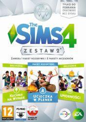 The Sims 4 Zestaw 2 (Kuchnia na Wypasie, Ucieczka w Plener, Upiorności)