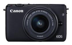 Canon EOS M10 Czarny + EF-M 15-45mm grafitowy/czarny