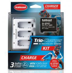 Hahnel Trio Charger Kit