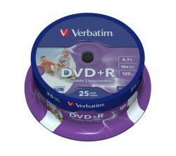 DVD+R Verbatim Printable ID 25szt