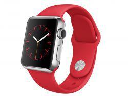 Apple Watch Koperta 38 mm ze stali nierdzewnej z paskiem sportowym z edycji (PRODUCT)RED