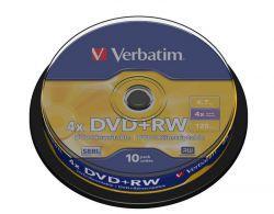 DVD+RW Verbatim 10szt