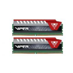 Patriot Viper Elite Red 16GB [2x8GB 2400MHz DDR4 CL15 DIMM]