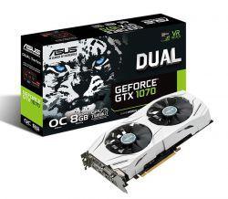 ASUS GeForce GTX 1070 DUAL OC 8GB GDDR5 VR Ready