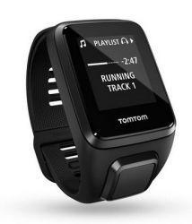 TomTom Spark 3 Cardio + Music + słuchawki czarny L