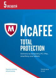 McAfee Total Protection 2017 BOX PL 5 - device - licencja na rok