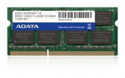 A-Data 8GB [1x8GB 1600MHz DDR3L 1.35V CL11 SODIMM]