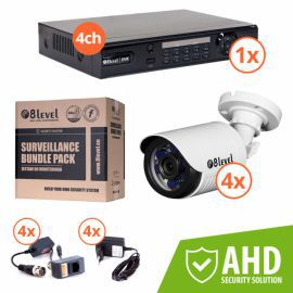 8level KIT-DVR4-1080P-4E720