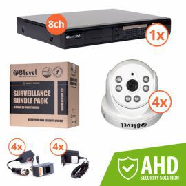 8level KIT-DVR8-1080P-4I720