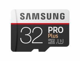 Samsung PRO+ microSDHC 32GB UHS-I U3  [Zapis 90MB/s Odczyt 100MB/s]