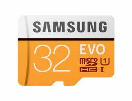 Samsung EVO microSDHC 32GB UHS-I U1 [Zapis 20MB/s Odczyt 95MB/s]