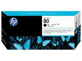 HP No. 80 czarny + głowica czyszcząca