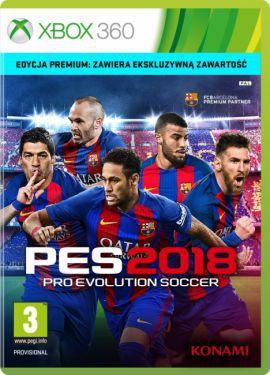 Pro Evolution Soccer 2018 Premium Edition (X360)
