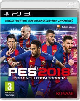 Pro Evolution Soccer 2018 Premium Edition (PS3)