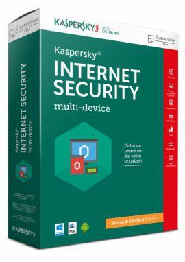 Kaspersky Internet Security multi-device Home & Student BOX 1 - Desktop - licencja na rok