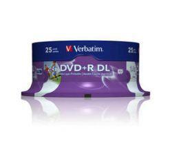 DVD+R Verbatim DL Printable 25szt