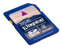 Kingston SDHC 16GB