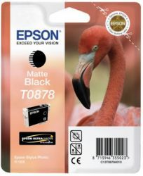Epson T0878 Ultrachrome czarny mat