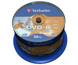 DVD-R Verbatim Printable NO ID 50szt