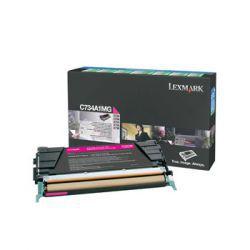 Toner Lexmark C734A1MG purpurowy zwrotny