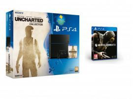 SONY Konsola PS4 500GB Uncharted Mortal Kombat X PS 90 dni